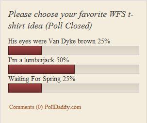 wfs tshirt poll results